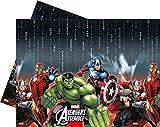 Marvel Unique Party Plastic Avengers Assemble Tablecloth, 1.8m x 1.2m