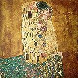 Hudemas Kit Mezzo Punto Completo Il Bacio di Klimt Mis 55x55cm cod 649