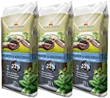 Floragard Kleeschulte Anzucht und Kräutererde 3x20 L • 22% Klimavorteil