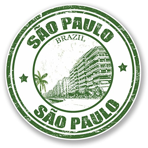2-x-sao-paulo-brazil-vinyl-sticker-luggage-travel-tag-ipad-laptop-gift-4362-10cm-x-10cm