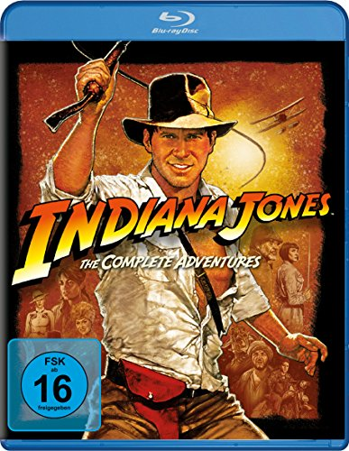 Indiana Jones - The Complete Adventures [Blu-ray] (Star Wars Blu-ray Set)