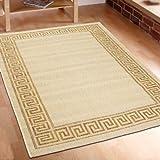Teppich Flachgewebe berber beige Top Angebot verschiedene Größen In-& Outdoor