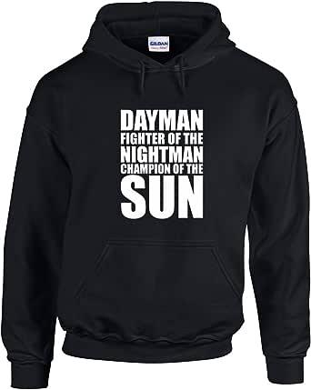 Brand88 - Dayman Fighter of The Nightman, Printed Hoodie