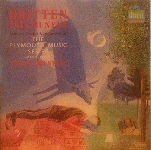 Britten, Paul Bunyan, Philip Brunelle (VINYL-BOX)