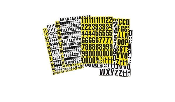Sonderzeichen Farbe:wei/ß Schr/änke und Schauk/ästen 23mm hoch Magnetische Zahlen inkl Ideal f/ür Regale Magnetzahlen Magnet-Ziffern Lagerkennzeichnung Lagerbeschriftung magnetisch
