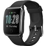 CHEREEKI Smartwatch, Fitness Orologio IP68 Impermeabilità con Cardiofrequenzimetro, Contapassi e Calorie da Polso, Fitness Tr
