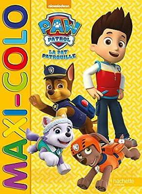 Paw Patrol-La Pat'Patrouille - Maxi colo de Hachette Jeunesse
