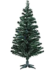 Urban Festivities® Six 6 feet Artificial Christmas Tree Xmas Tree Green with Solid Legs, Perfect for Christmas Decorations for Home 6Feet Christmas Tree for Home 6FT