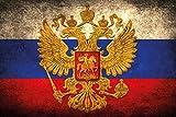 Schatzmix Bandera de Países–Rusia de Bandera de Russia barschild, dekoschild, Retro