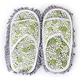 1 Paar Hausschuhe Schuhe Abstauben Mop Bodenreiniger Reinigung