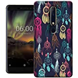 Digiprints Hard PC Dream Catcher Collage Printed Designer Back Case Cover for Nokia 6.1(2018)