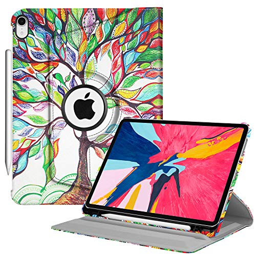 8e44a55aee49 FINTIE Coque pour iPad Pro 11 2018 [Compatible avec Apple Pencil] - 360°