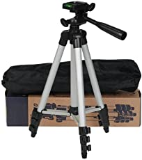 Tripod-3110 40.2 Inch Portable Camera Tripod with Three-dimensional Head & Quick Release Plate for Canon Nikon Sony Cameras Camcorders