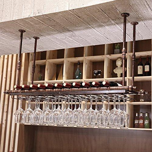 Weinregale MEIDUO Wall Mount Metallrahmen europäischen Retro - Größe kann wählen um irgendeinen Raum zu komplimentieren (größe : 80cm*30cm) -