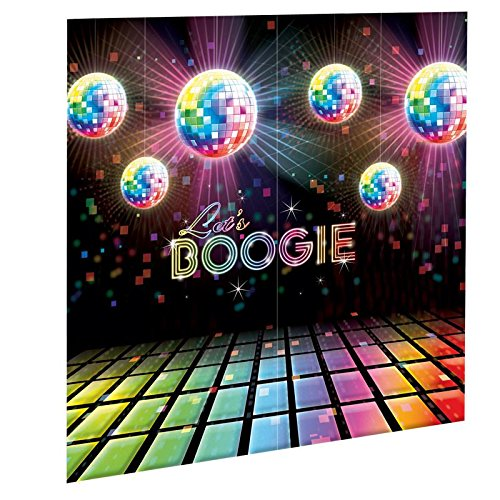 70s Disco Scene Setter - Wall Decorating Kit