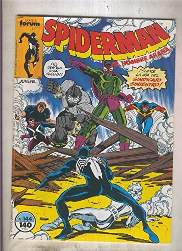 Spiderman volumen 1 numero 144