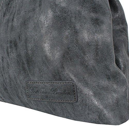 Fritzi Da Borse Da Donna Edith Della Prussia, Jeans 42x28x13 Cm