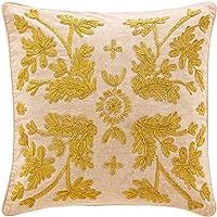 Sheridan-Cuscino a forma di fiore, colore: oro, 50 cm x