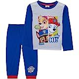 Paw Patrol Pijama Niño, Patrulla Canina Pijamas Niños, Conjunto 2 Piezas Camiseta Manga Larga y Pantalones, Regalos para Niño