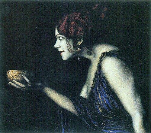 Esszimmer-möbel-outlet (Das Museum Outlet-Tilla Durieux als Circe von Franz von Stuck-Poster (61x 45,7cm))