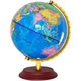 1 Pc World Globe World Map Luminous English Version Globe Educational Tool with USB Interface for Library Office