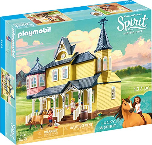 Spirit- Lucky's Happy Home Lucky Casa