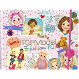 Despacho de 7981 - Crea tu TopModel Fashion Kids Coloring Book, alrededor de 27,5 x 22 x 1,5 cm