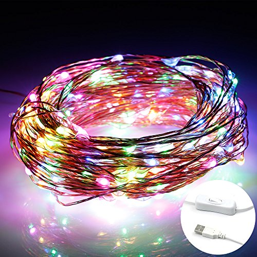 usb-powered-fairy-lights-jeasun-100-leds-32-feet-multi-coloured-copper-wire-color-change-led-outdoor