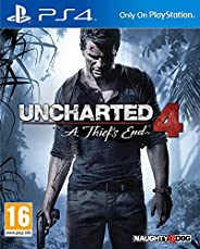 Uncharted 4: A Thief's End (PS4)- Older ver