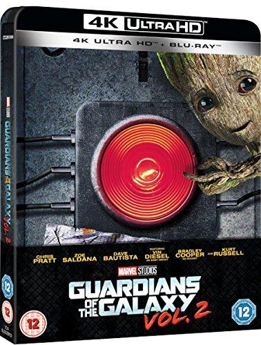 Bild von Guardians of the Galaxy Vol.2 Steelbook - 4K Ultra HD Including 2D Blu-ray UK Exclusive Limited Edition Steelbook Blu-ray Region Free