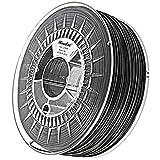 Minadax® 1kg Premium Qualitaet 1,75mm PLA-Filament schwarz fuer 3D-Drucker hergestellt in Europa
