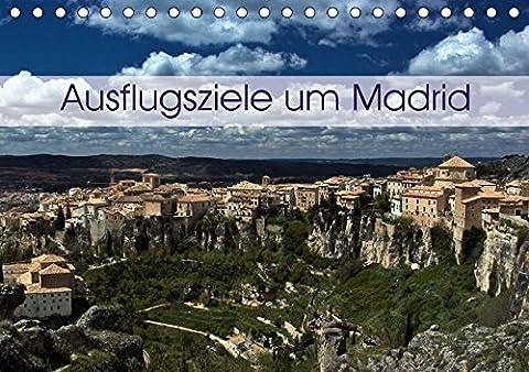 Ausflugziele um Madrid (Tischkalender 2017 DIN A5 quer): Meine Impressionen aus der Umgebung von Madrid (Monatskalender, 14 Seiten ) (CALVENDO