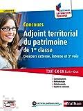 Adjoint territorial du patrimoine de 1re classe - Catégorie C - Intégrer la fonction publique - 2016