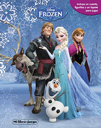 Frozen My book-game: Includes a story, figurines and a play mat (Disney, Frozen)