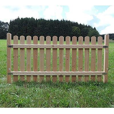 Holz Zaunelement Länge: 192cm - Startelement - Douglasie - 4090/42 DO von haus-garten-versand.de bei Du und dein Garten