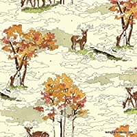 Moda lush Uptown by Erin Michael tessuto–FQ–& # Xfffc; 2604525–partite Monkey Tales, razza e Alpine