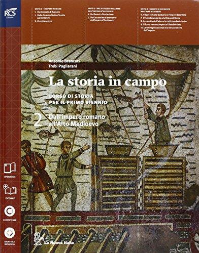 La storia in campo. Con Storie alimentazione e ospitalità-Extrakit-Openbook. Per le Scuole superiori. Con e-book. Con espansione online: 2