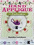 Image de Hand Appliqué with Embroidery (English Edition)