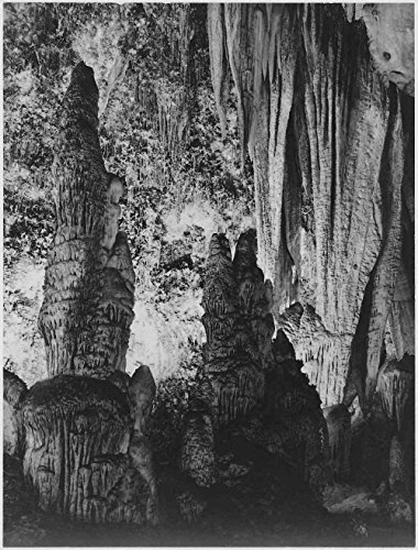 Das Museum Outlet - Adams - Carlsbad Caverns National Park New Mexiko 4, gespannte Leinwand Galerie verpackt. 29,7 x 41,9 cm