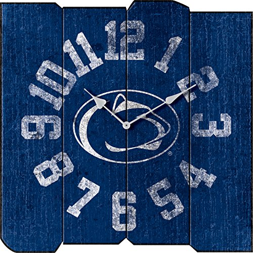 Imperial Offiziell lizenzierte NCAA Merchandise: Vintage quadratisch Uhr, Unisex, Officially Licensed NCAA Merchandise: Vintage Square Clock, Penn State Nittany Lions, Mehrfarbig Penn State Square