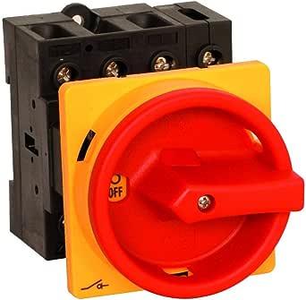 Hauptschalter Leistungsschalter 50a Ip 65 Frontseitig 4 Polig Einbauversion Frontbefestigung In Kompakter Größe Beleuchtung