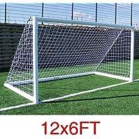 AllRight But de Football Goal Nets pour L'Entraînement Sportif Match Remplacement (Seulement des Filets)