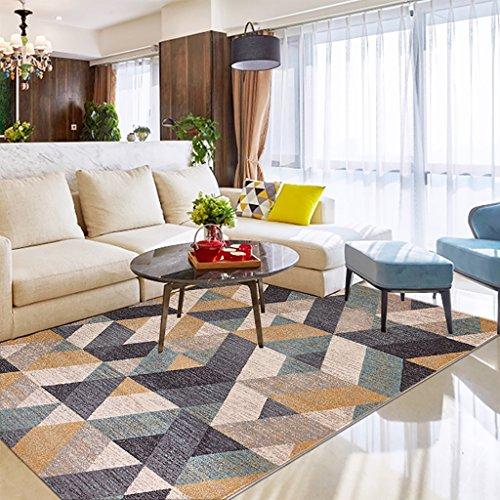 SESO UK- Nordic Modern Luxury Alfombra grande rectangular Cama de diseño Alfombras Salón Dormitorio ( Color : B , Tamaño : 160*230cm )