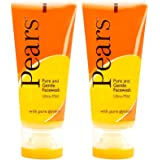 Pears Pure and Gentle Face Wash, 60g (Pack of 2)
