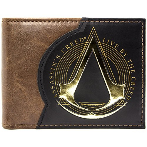 Assassins Creed Live By The Creed Braun Portemonnaie -