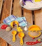 #5: Ds Mould Combo, Plastic, Yellow, 15 Pc Set