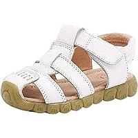 Gaatpot Enfant Sandales et Nu-Pieds en Cuir Bébé Chaussure Sandales Bout Fermé Chaussure d'été pour Garçon Fille 22-34.5…