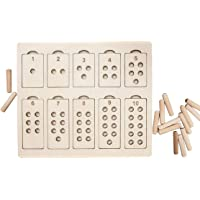 Whittlewud Montessori Numbers-Arithmetic Training Toys for Toddlers – Math Games & Teaching Numbers Counting Toys…