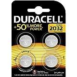 Duracell Specialty 2032 Lithium-Knopfzelle 3 V, 4er-Packung, mit kindersicherer Technologie, für die Verwendung in…