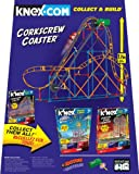 K'Nex Amusement Park Collect & Build - Corkscrew Coaster (337 pieces)